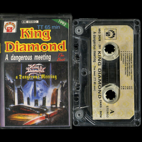 "King Diamond ""A Dangerous Meeting"" MC"