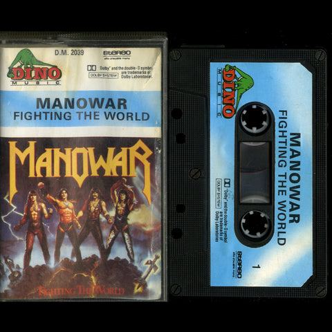 "Manowar ""Fighting the World"" MC"