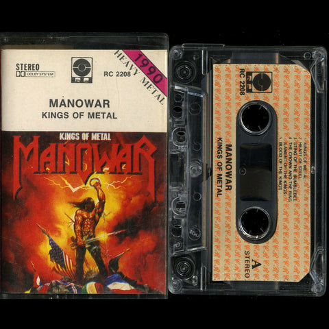 "Manowar ""Kings of Metal"" MC"