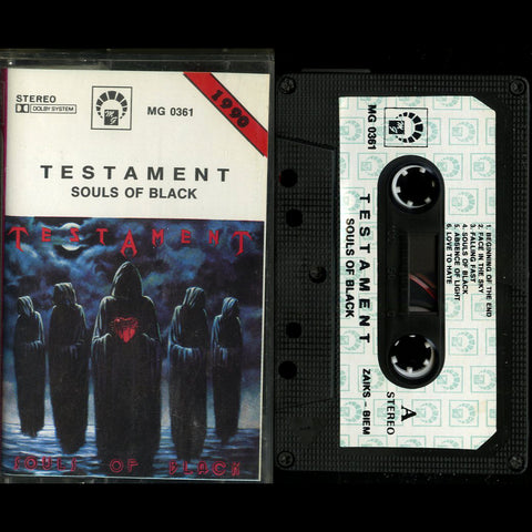 "Testament ""Souls of Black"" MC"
