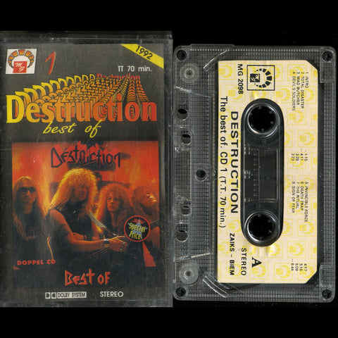 "Destruction ""Best of Destruction 1"" MC"