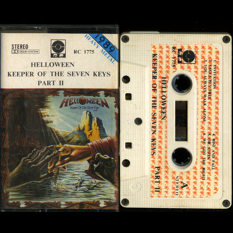 "Helloween ""Keeper of the Seven Keys Part II"" MC"