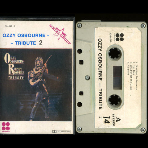 "Ozzy Osborne ""Randy Rhoads Tribute 2"" MC"