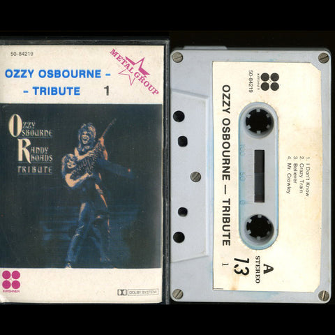 "Ozzy Osborne ""Randy Rhoads Tribute 1"" MC"