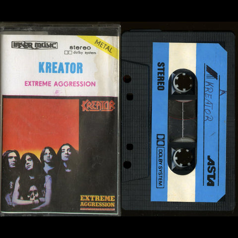 "Kreator ""Extreme Aggression"" MC"