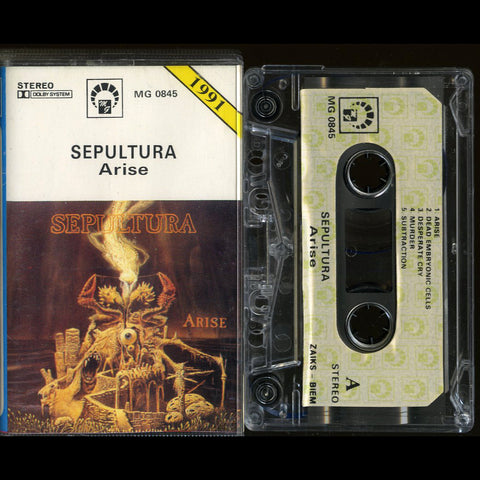 "Sepultura ""Arise"" MC (MG Edition)"