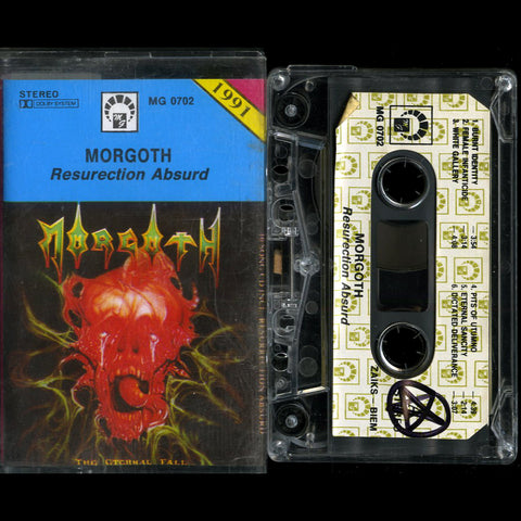 "Morgoth ""Resurrection Absurd"" MC"
