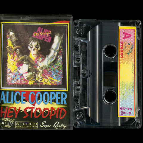 "Alice Cooper ""Hey Stoopid"" MC"