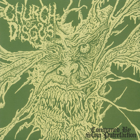 "Church of Disgust ""Consumed by Slow Putrefaction"" 7"""