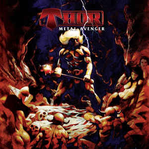 "Thor ""Metal Avenger"" Red Vinyl LP"