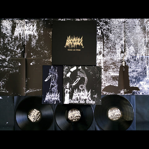 "Black Cilice ""Curses and Oaths"" 3 x LP Wooden Boxset"