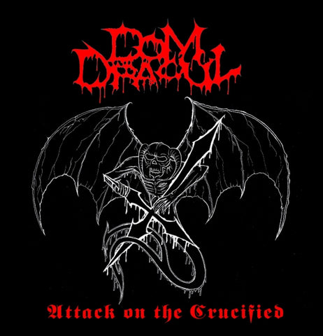 "Dom Dracul ""Attack On The Crucified"" LP"