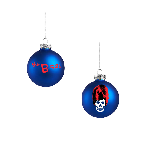 The B52s Holiday Ornament (Blue)