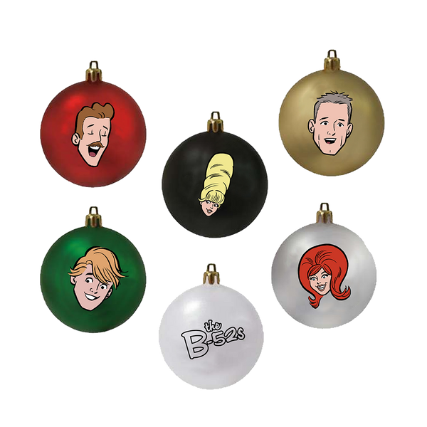 B-52s Ornament Set