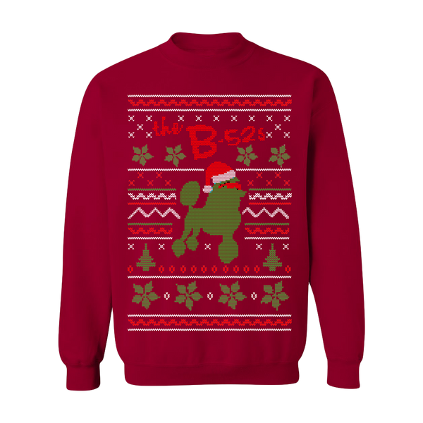 8bd23b5dd The B-52s Quiche Lorraine Holiday Faux Sweater