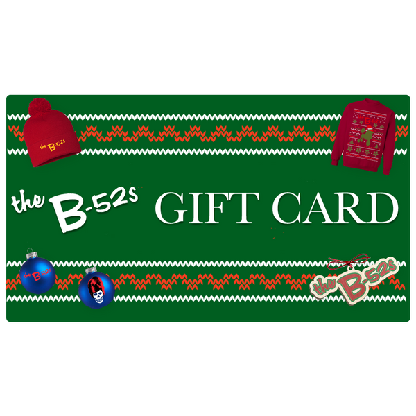 The B-52s Holiday Gift Card