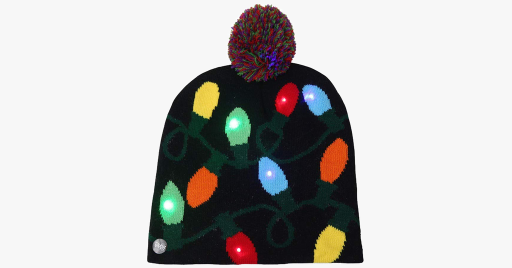 LED Christmas Beanie - BFCM