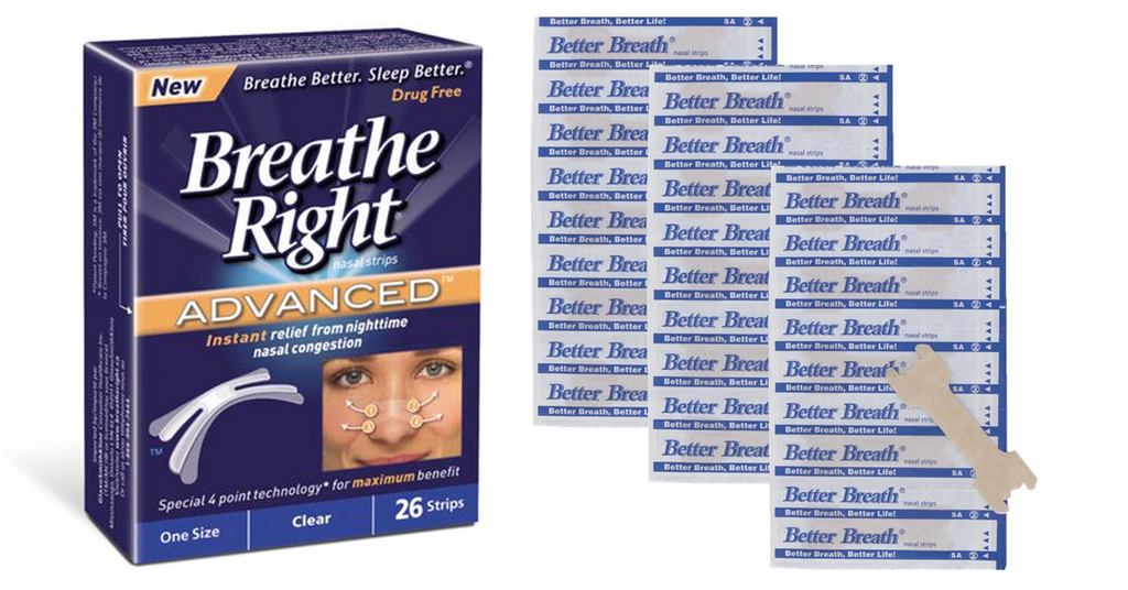 Breathe Right Nasal Strips - 30 Strips