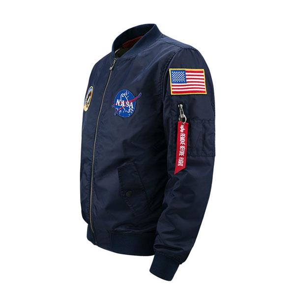 NASA Ma-1 Bomber Jacket - Best Seller - Black Friday Special - Deal Ends Soon