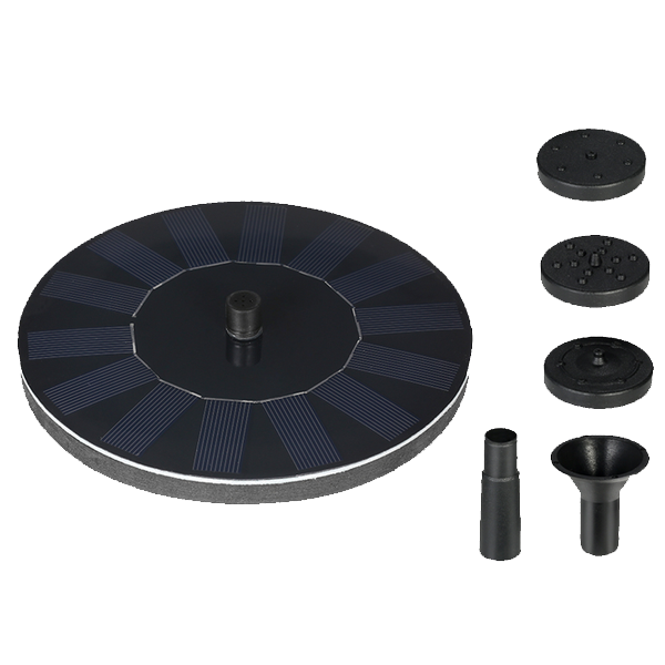 Solar Powered Fountain Pump - Best Seller - Black Friday Special - Deal Ends Soon