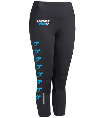 Women's Black Compression Pants