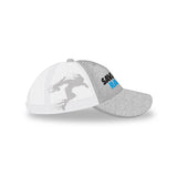 White/Grey Trucker Hat