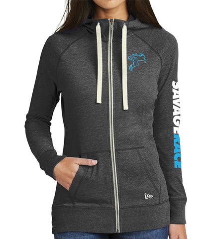 New Era Zip Hoodie Women's