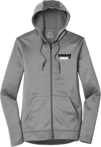 Women's Nike Grey Full Zip