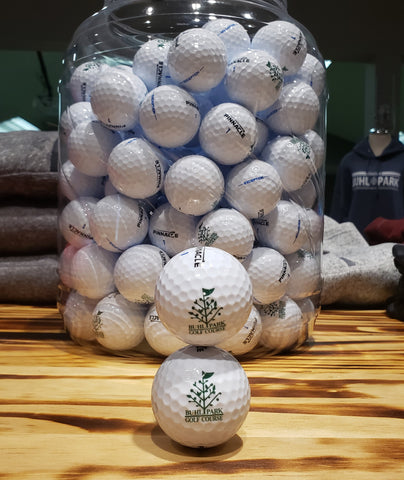 Buhl Park Logo Golf Ball