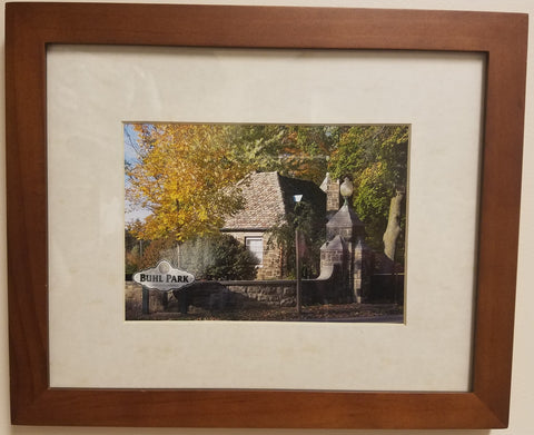 Gate House Picture in Frame