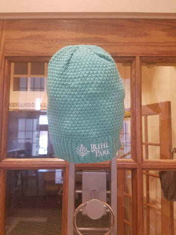 Teal Knit Hats