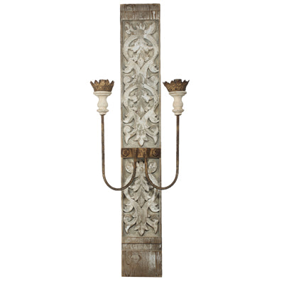 The Nashville Farmhouse Carved Wall Sconce | Home Decor & Lighting | Amped Decor