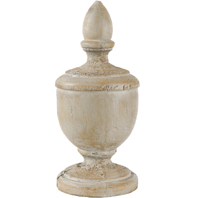 Weathered Finial Accent | Home Decor | Amped Decor