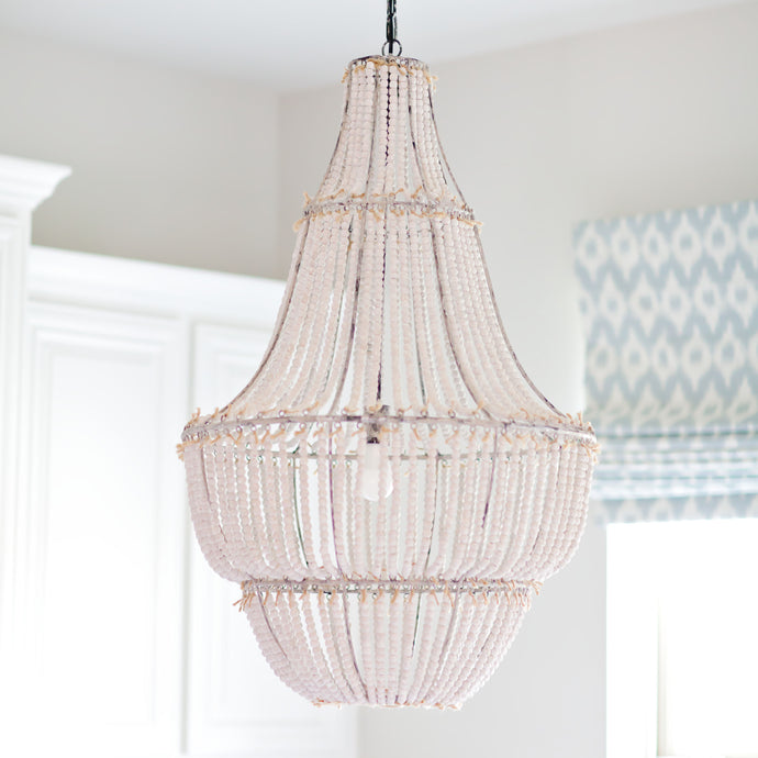The Rosemary Beaded Chandelier | Home Decor & Lighting | Amped Decor