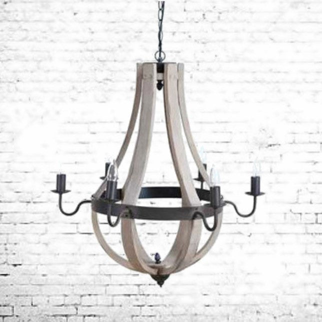 The Franklin Farmhouse Chandelier | Home Decor & Lighting | Amped Decor