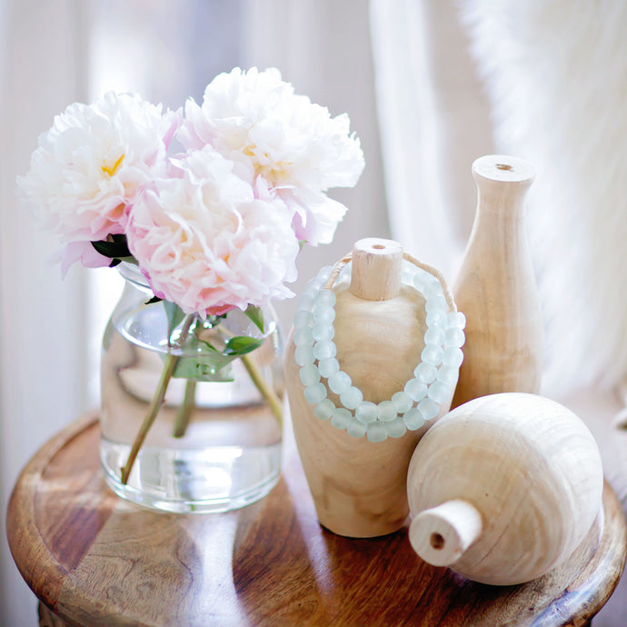 Natural Wooden Vase Set | Home Decor & Accessories | Amped Decor