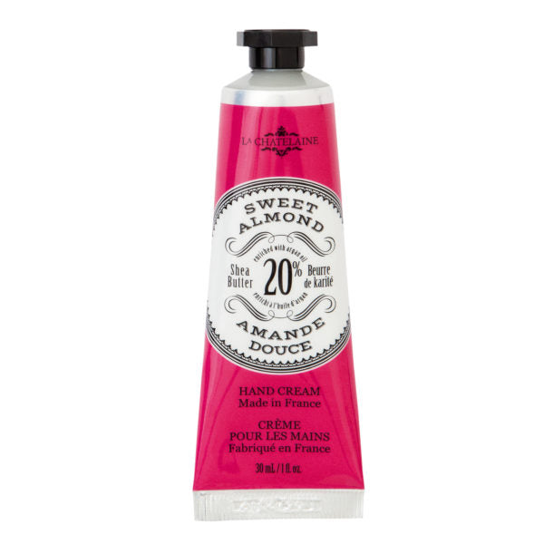 LaChatelaine Sweet Almond Hand Cream (1oz)