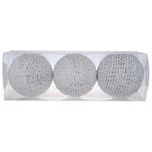 Decorative White Textured Spheres | Home Decor | Amped Decor