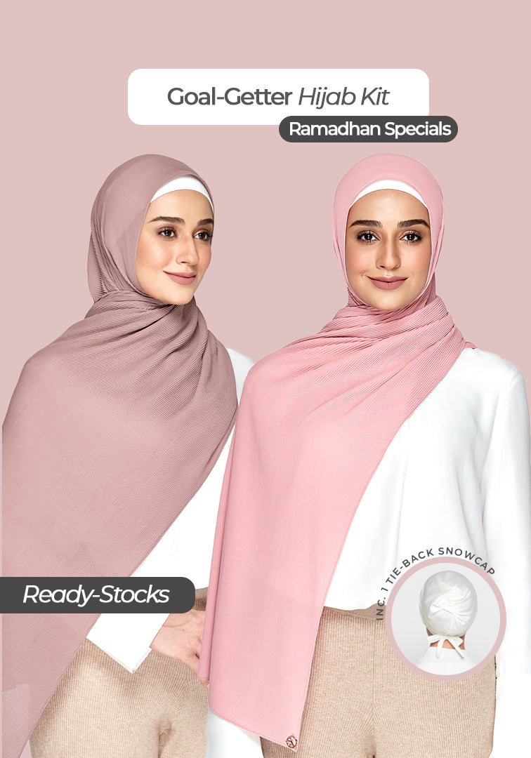 Goal Getter Hijab Kit in Khadeeja