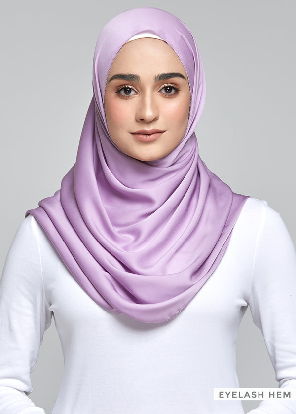 Discontinued Item: Satin Matte in Lavender (Eyelash Hem)