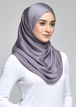 Discontinued Item: Satin Matte in Fossil Grey (Eyelash Hem)
