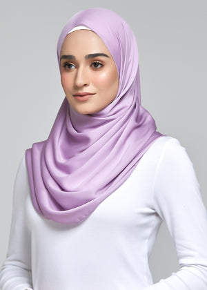 Satin Matte in Lavender (Eyelash Hem)