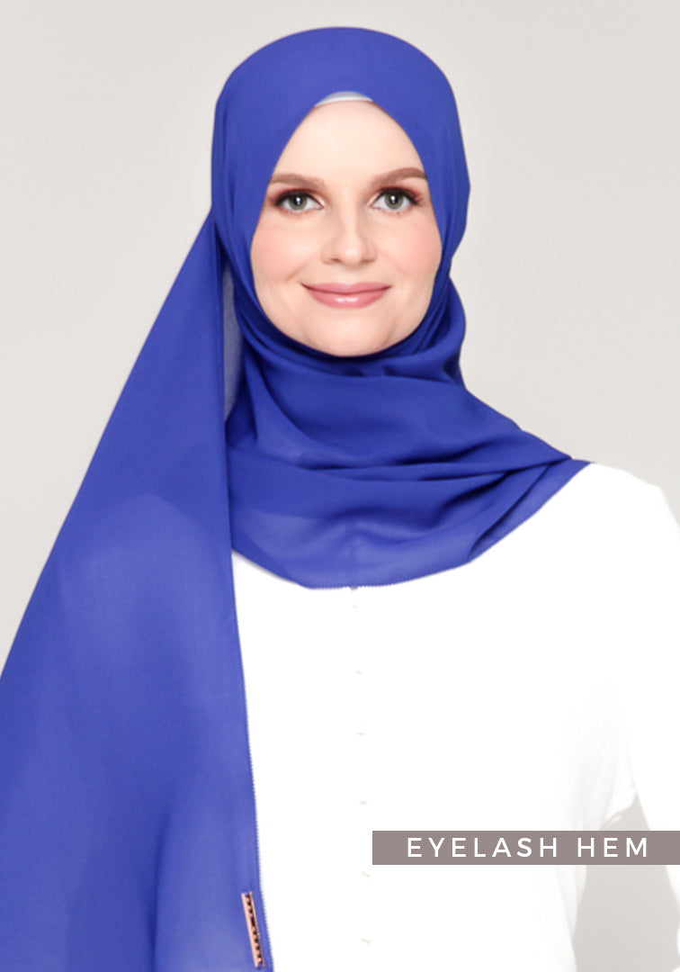 Premium Voile in Royal Blue