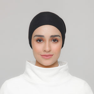 Viscose Snowcap in Onyx (Black)