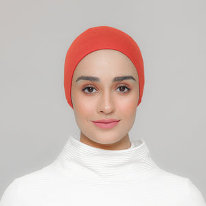 Viscose Snowcap in Pumpkin