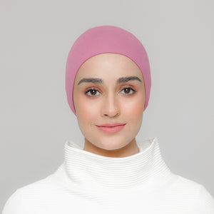 Viscose Snowcap in Berry Pink