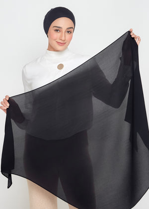 [PRE-ORDER] SLBAWALPLEATS SET in Coal Black