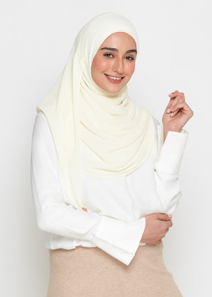[READY STOCKS] SLBAWALPLEATS SET in Eggshell White
