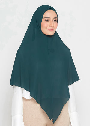 [PRE-ORDER] SLBAWALPLEATS SET in Emerald Green