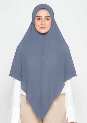[READY STOCKS] SLBAWALPLEATS SET in Slate Grey